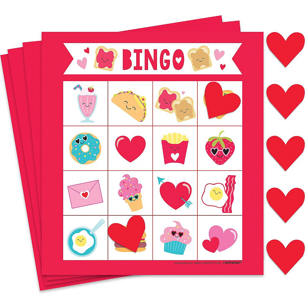 Food Valentine's Day Bingo Image #1