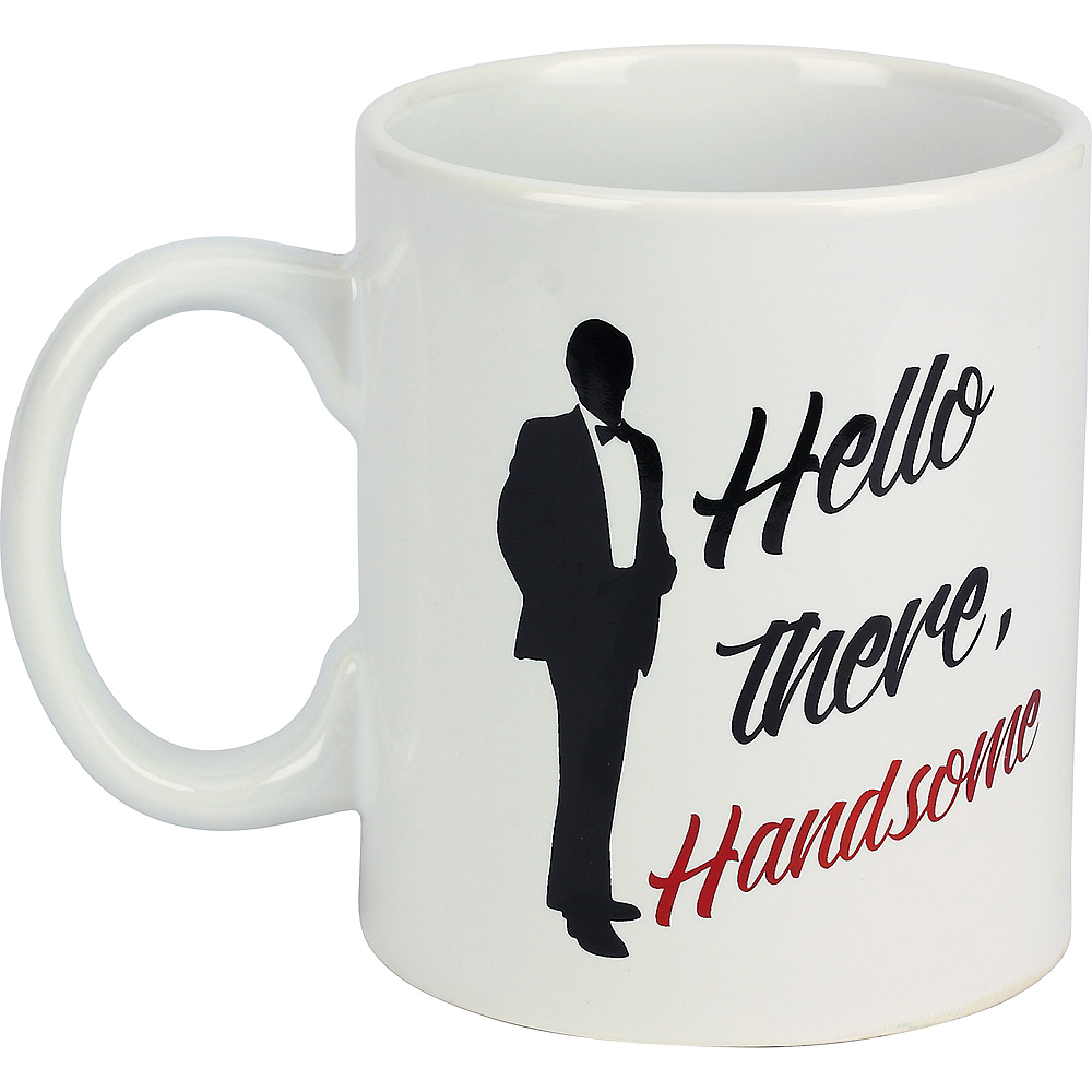 Nav Item for Hello There Handsome Coffee Mug Image #1