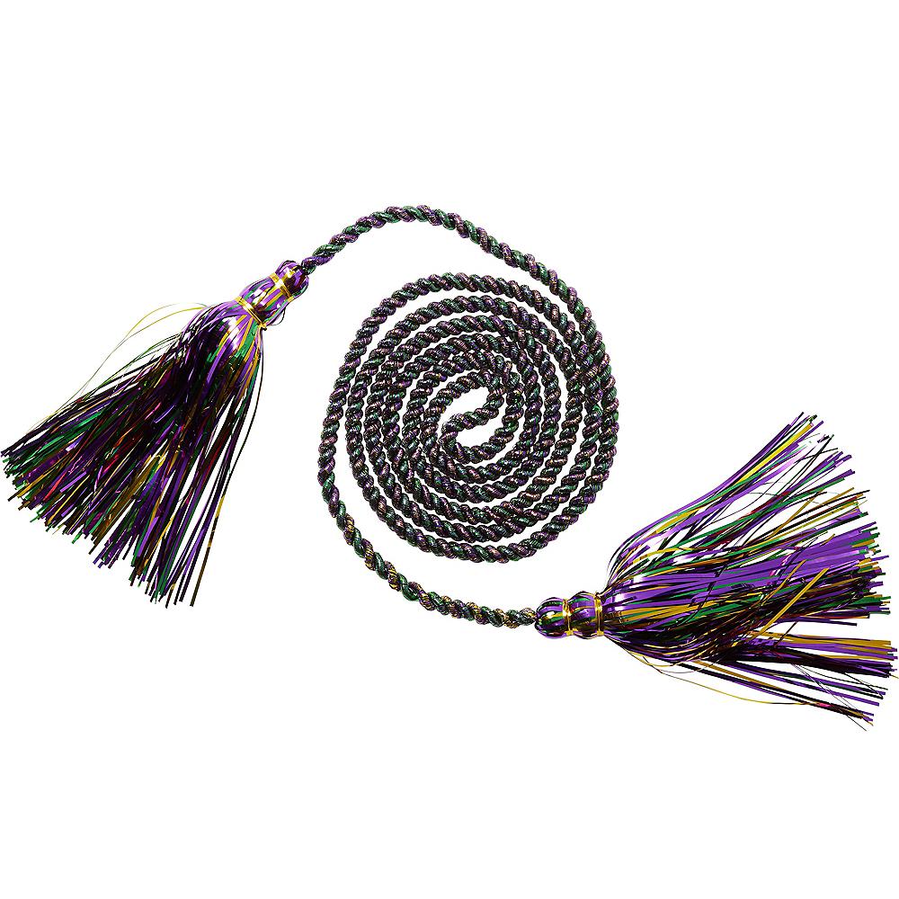 Metallic Mardi Gras Rope Garland Image #1