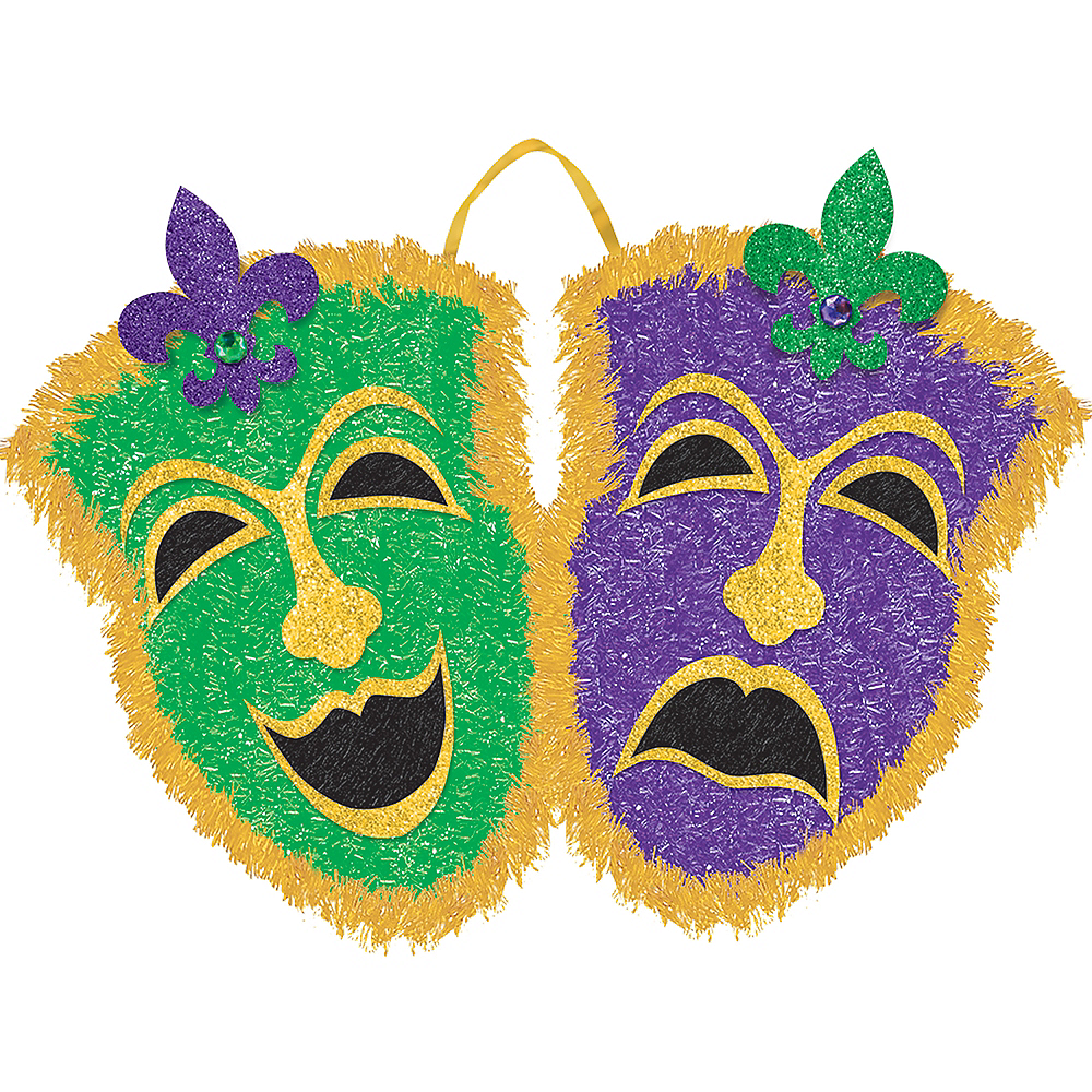 Nav Item for Tinsel Comedy & Tragedy Masks Image #1