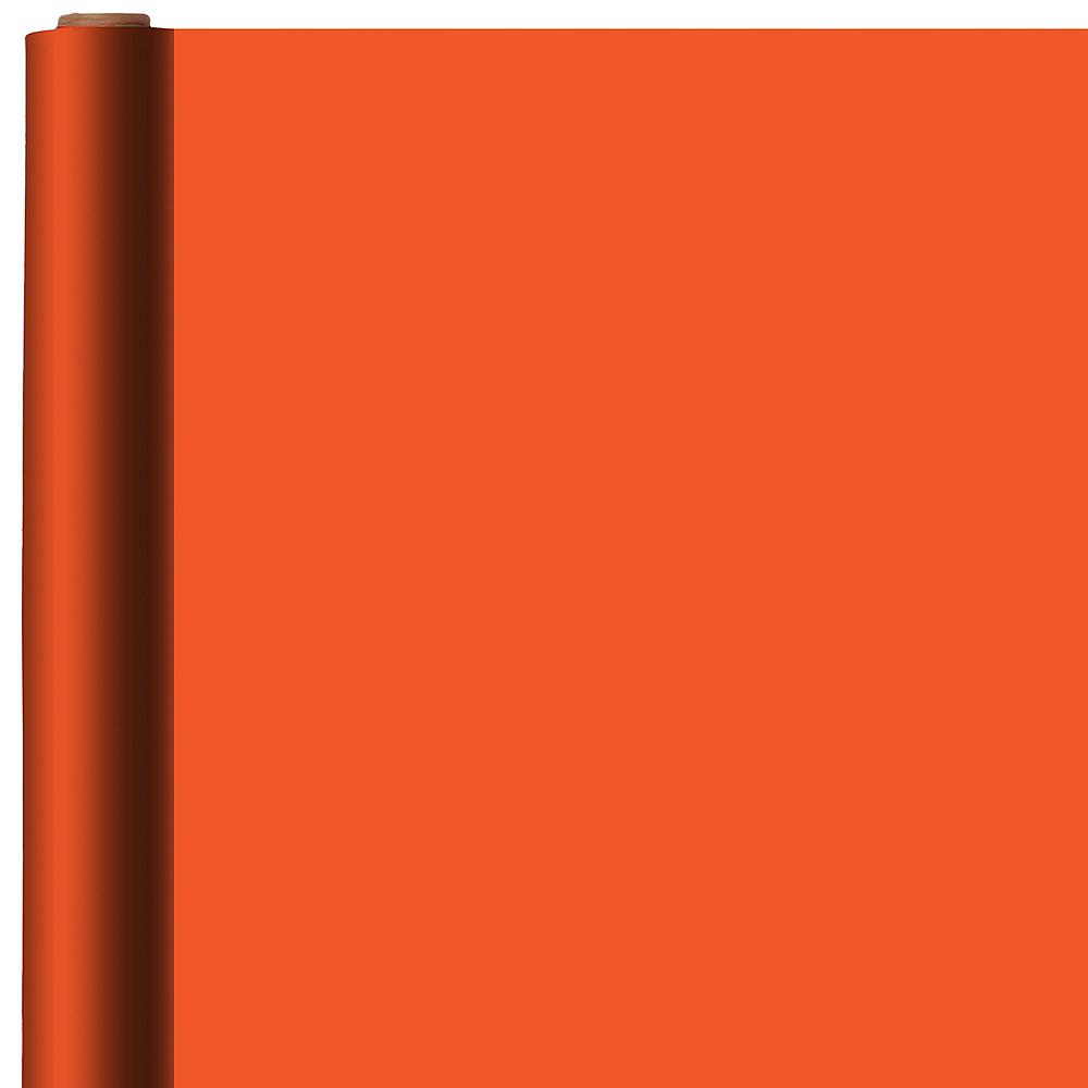 Orange Gift Wrap Image #1