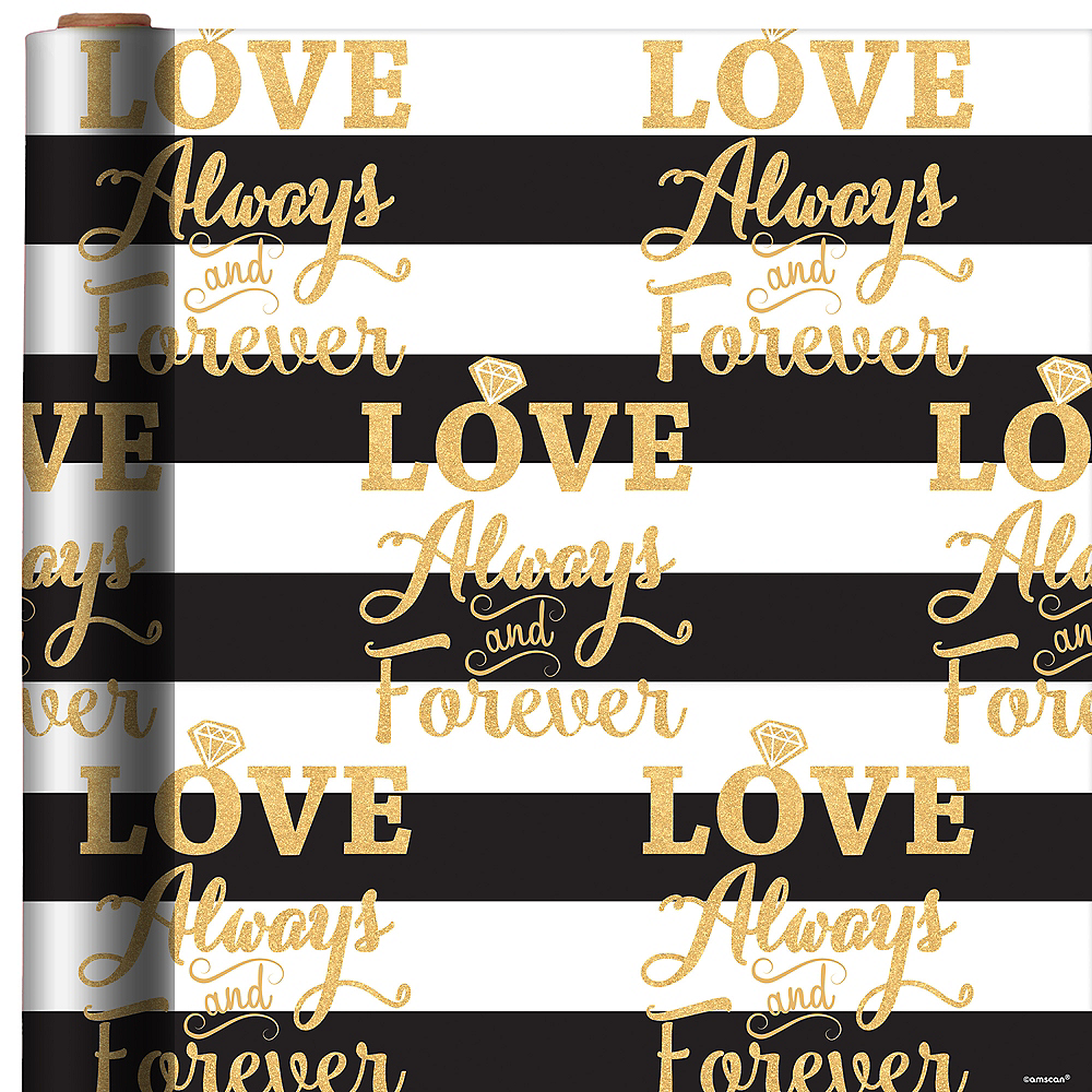 Love Always & Forever Gift Wrap Image #1