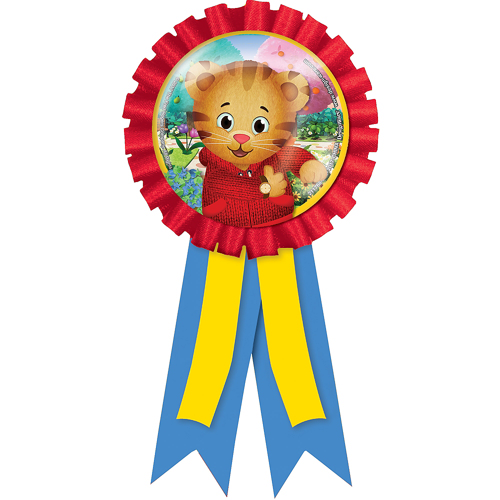 Daniel Tiger's Neighborhood Award Ribbon Image #1