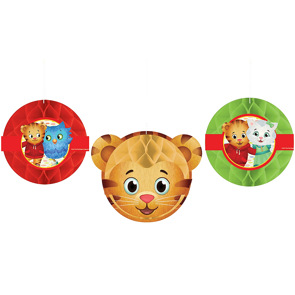 Daniel Tiger Honeycomb Balls 3ct Image #1