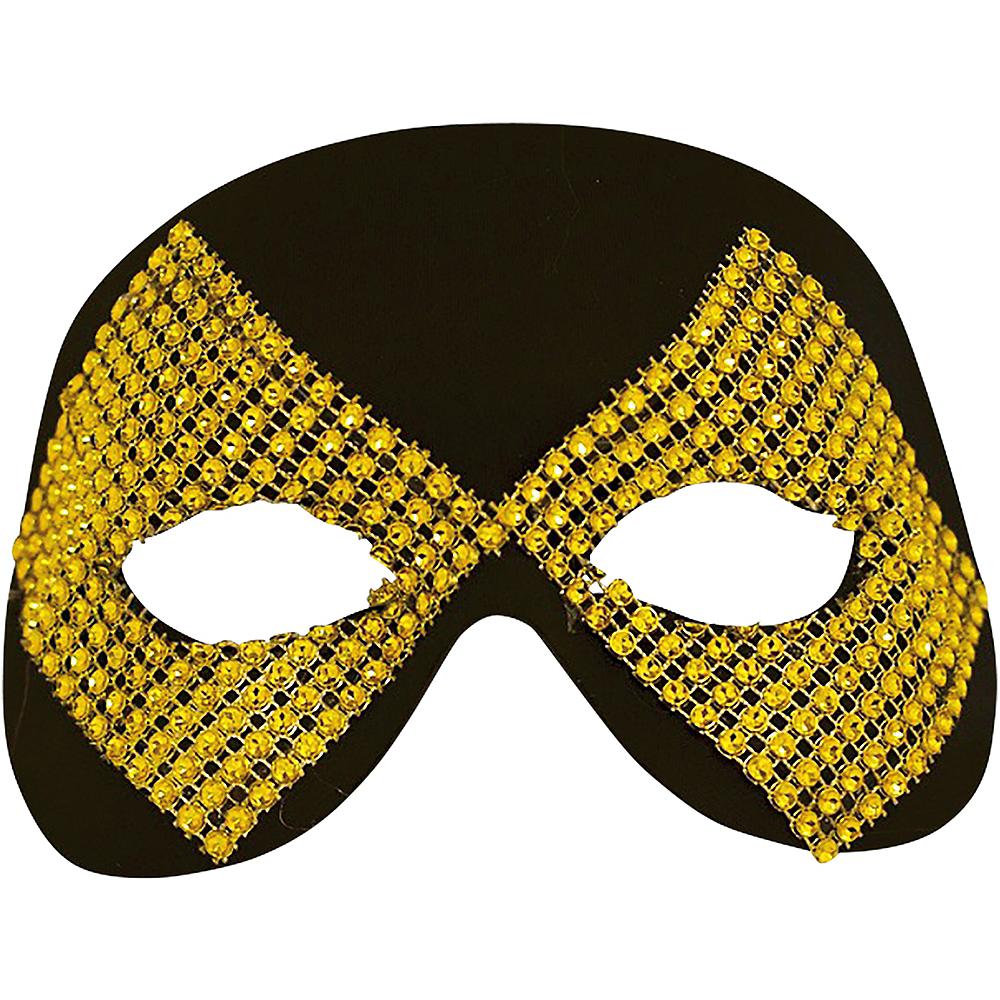 Black Diamond Masquerade Mask 6in x 4 1/2in | Party City