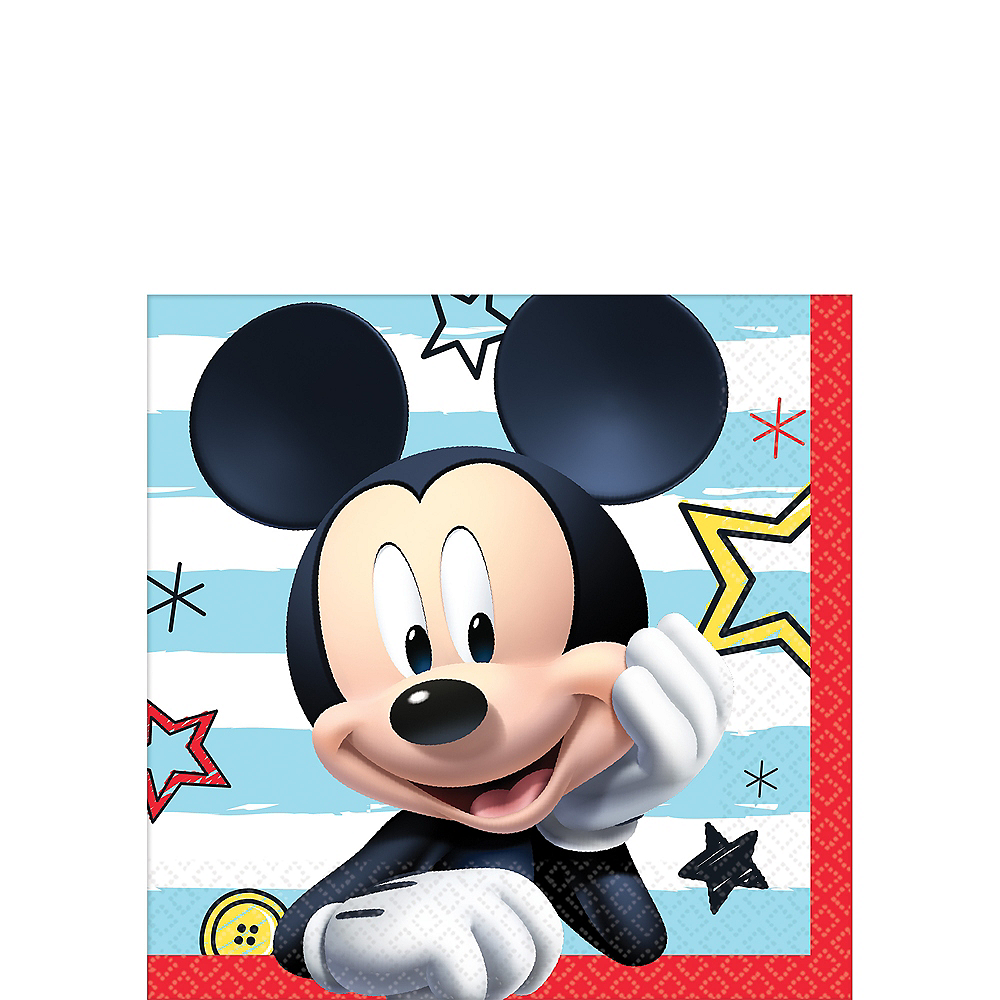 Mickey Mouse Beverage Napkins 16ct Image #1