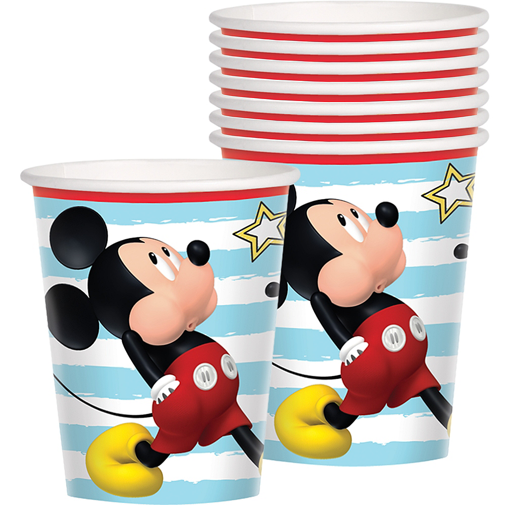 Mickey Mouse Cups 8ct Image #1