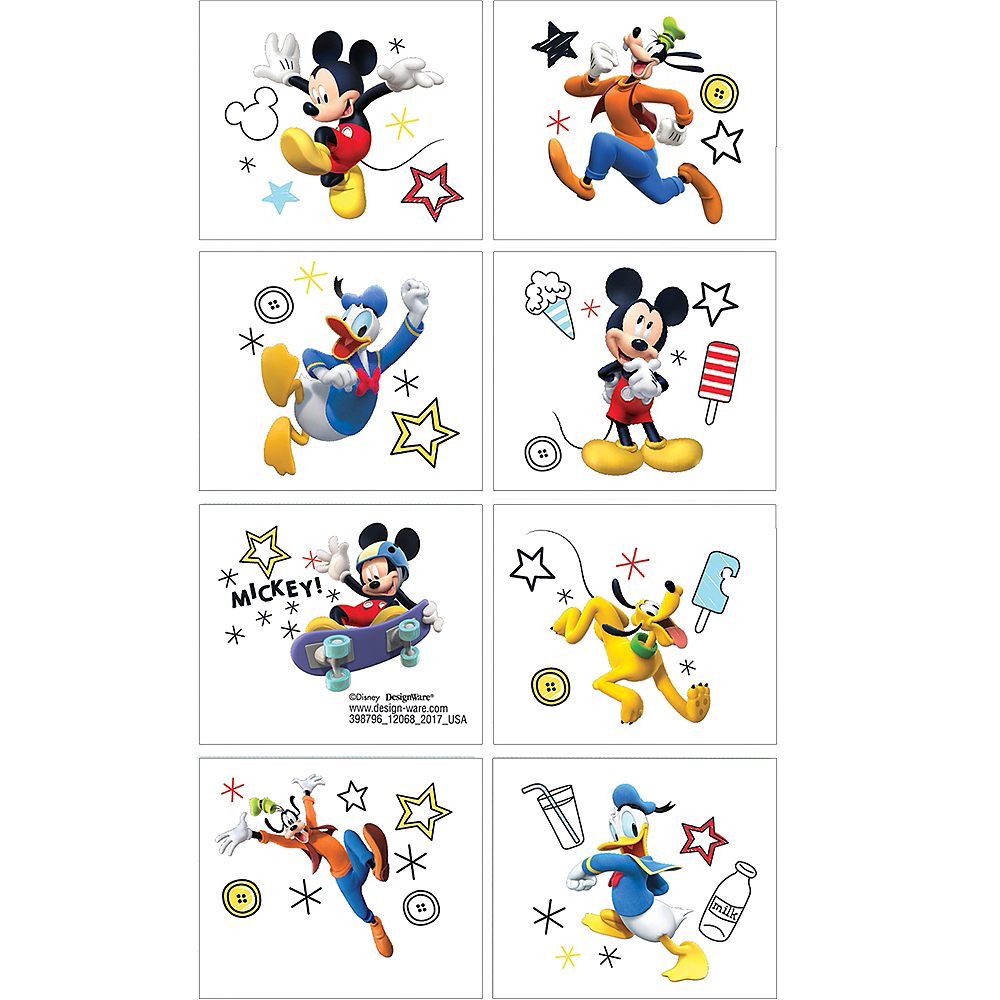 Mickey Mouse Tattoos 1 Sheet Image #1