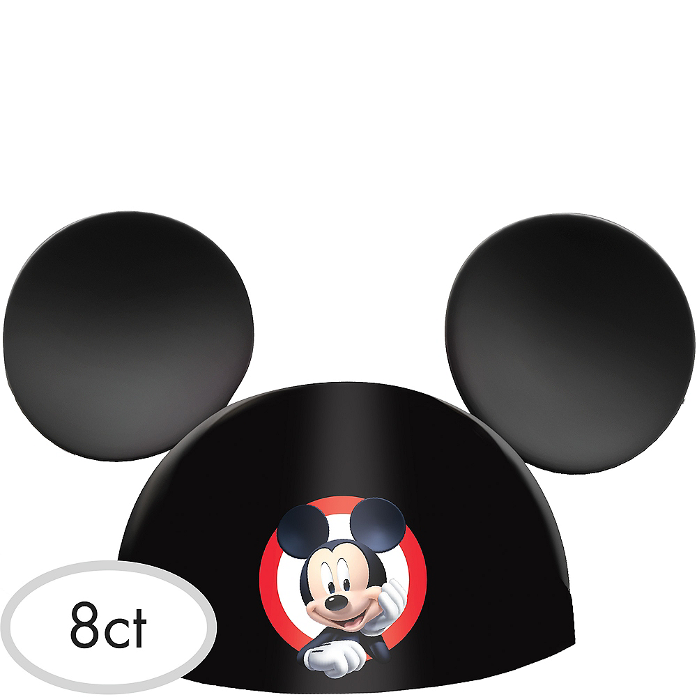 Mickey Mouse Party Hats 8ct Image #1