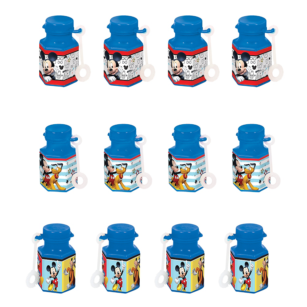 Mickey Mouse Mini Bubbles 12ct Image #1