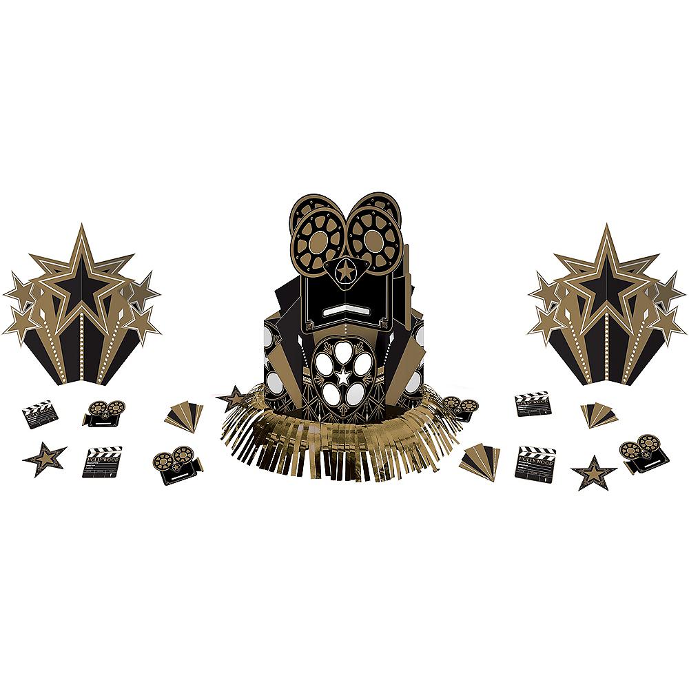 Metallic Hollywood Table Decorating Kit 23pc Image #1