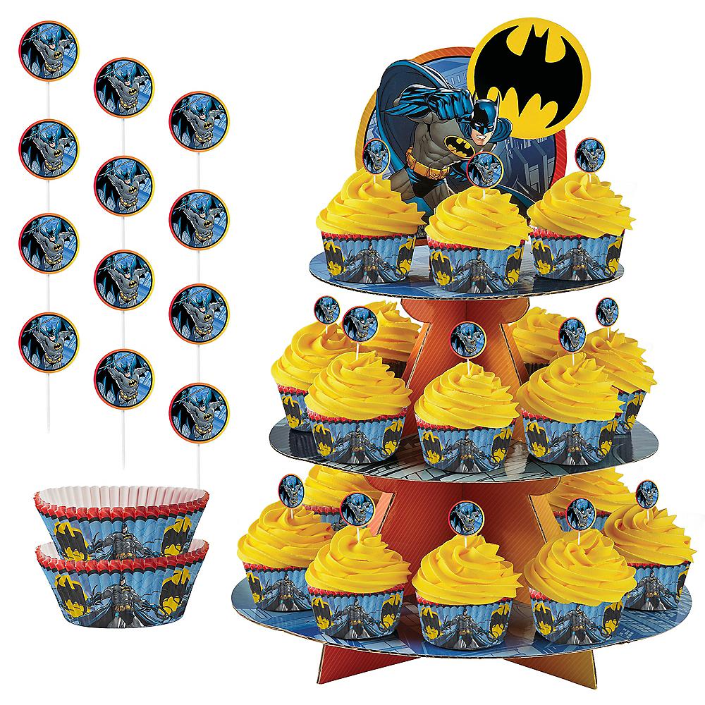 Batman Cupcake Kit for 24 Image #1