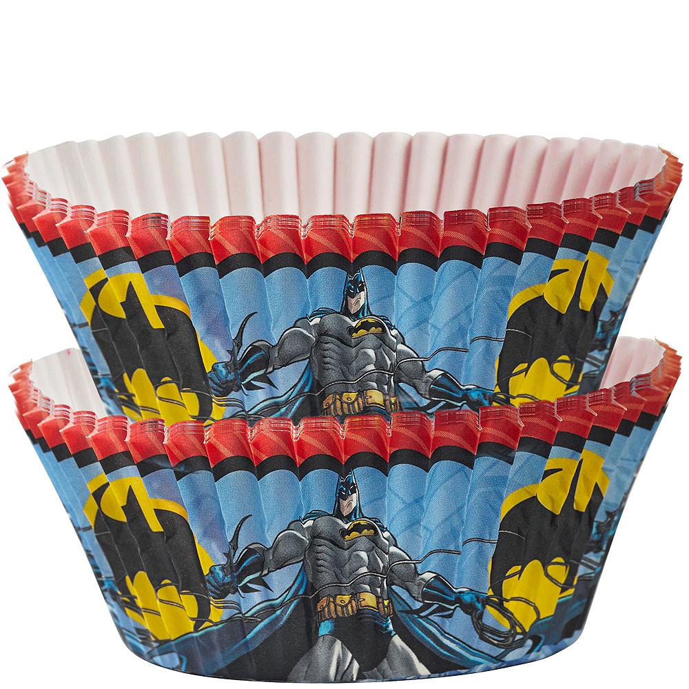 Batman Cupcake Kit for 24 Image #2