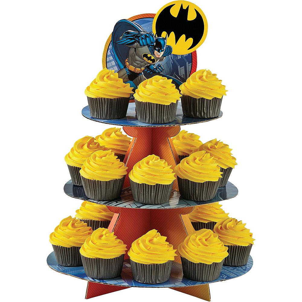 Batman Cupcake Kit for 24 Image #3
