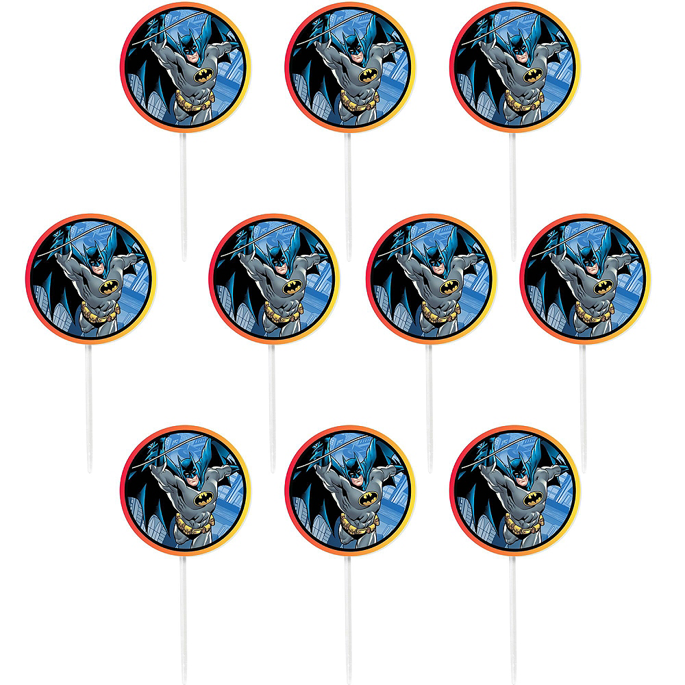 Batman Cupcake Kit for 24 Image #4
