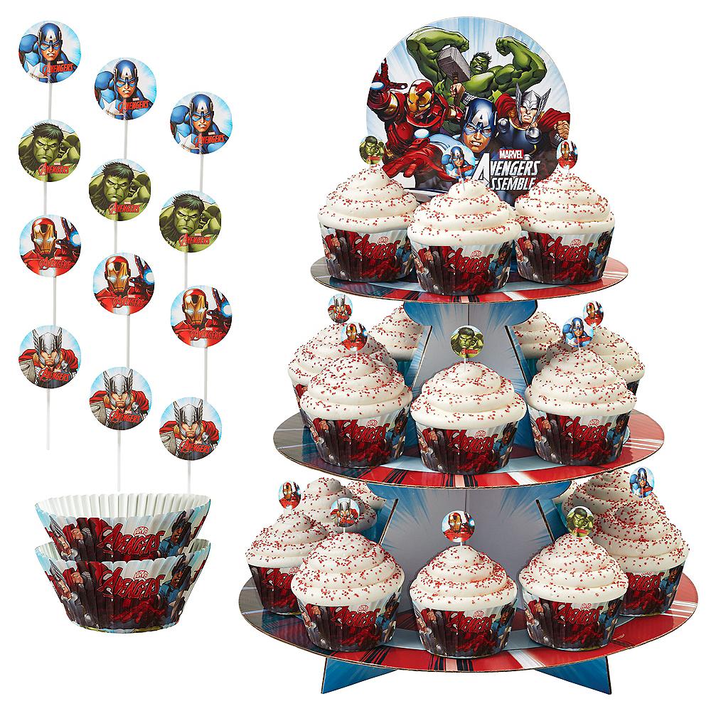 Avengers Cupcake Kit for 24 Image #1