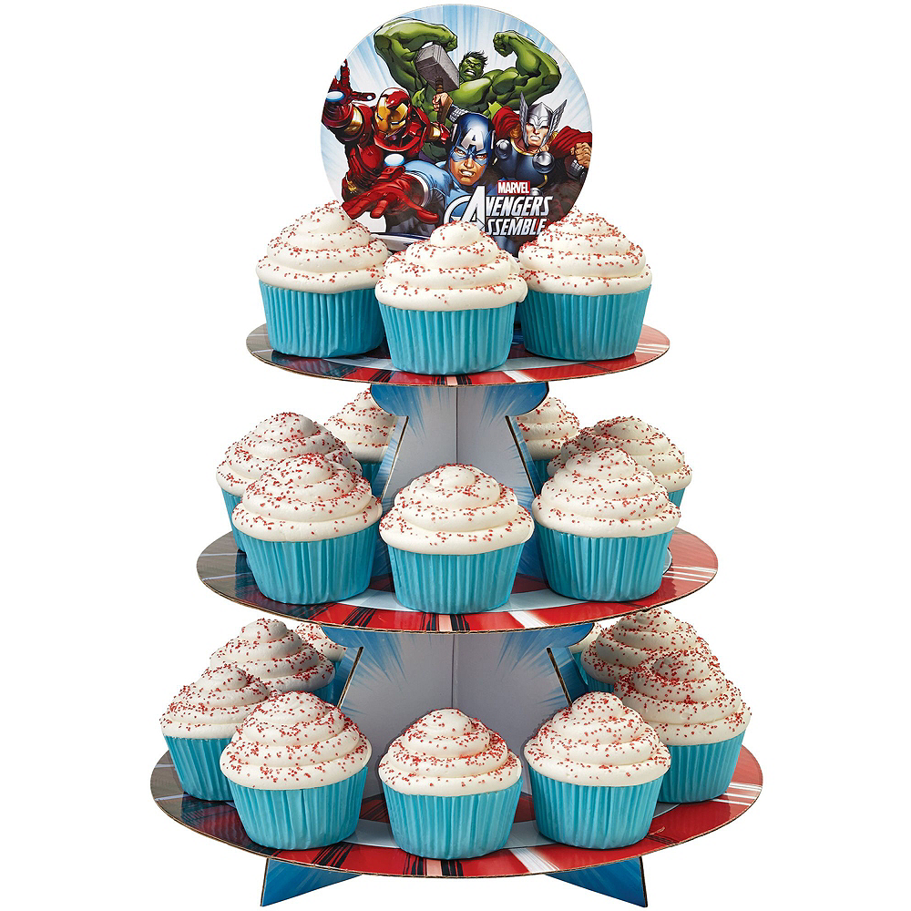 Avengers Cupcake Kit for 24 Image #3