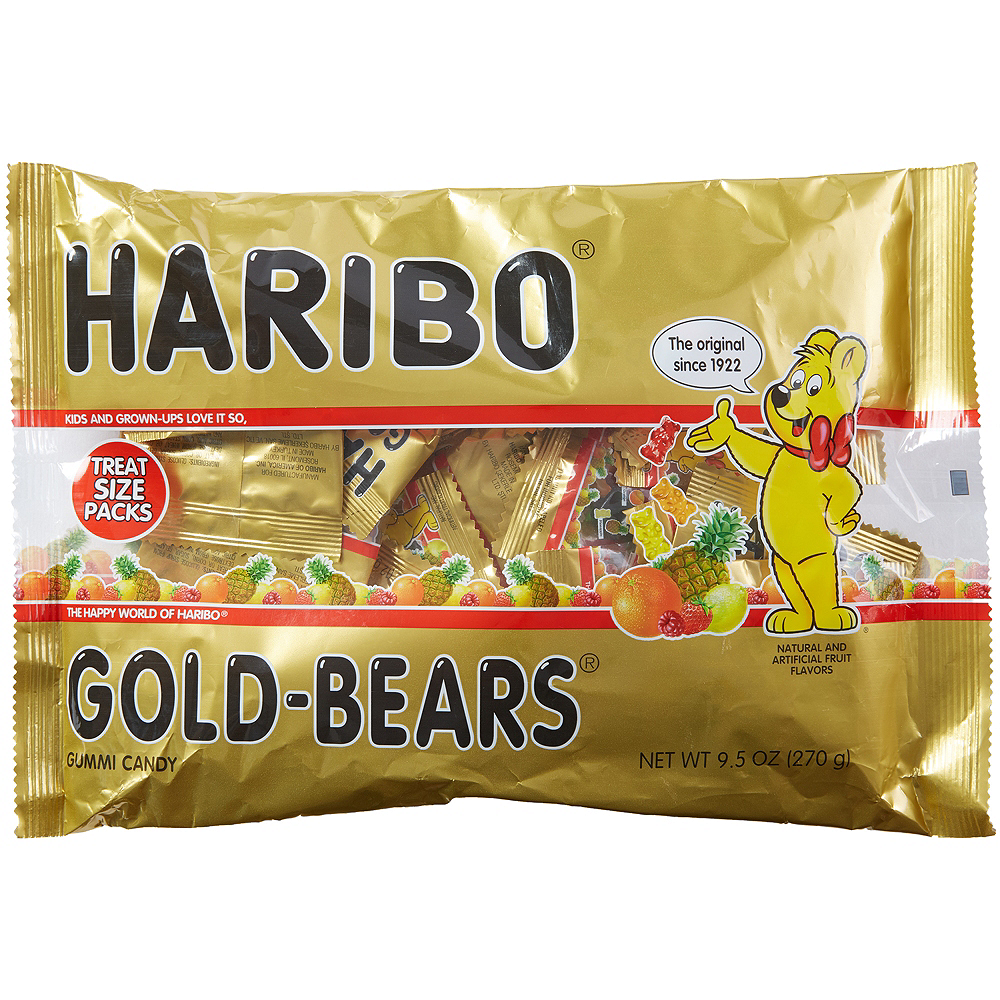 Nav Item for Haribo Gold-Bears Pouches Image #1