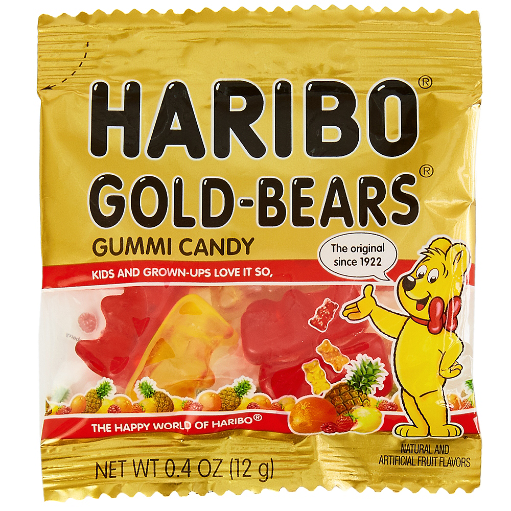 Nav Item for Haribo Gold-Bears Pouches Image #2