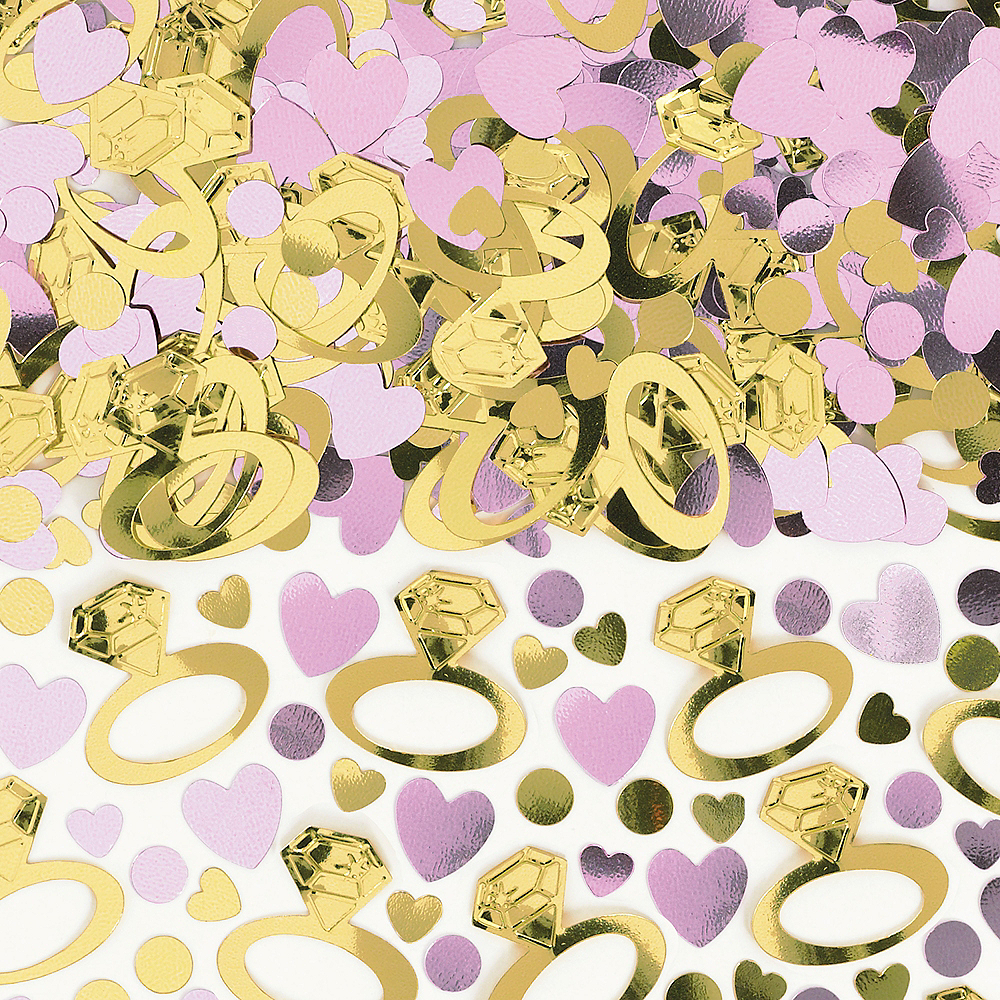 Nav Item for Sparkling Pink Wedding Confetti Image #1