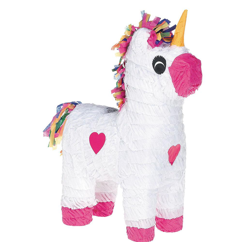 White Unicorn Pinata Kit Image #2