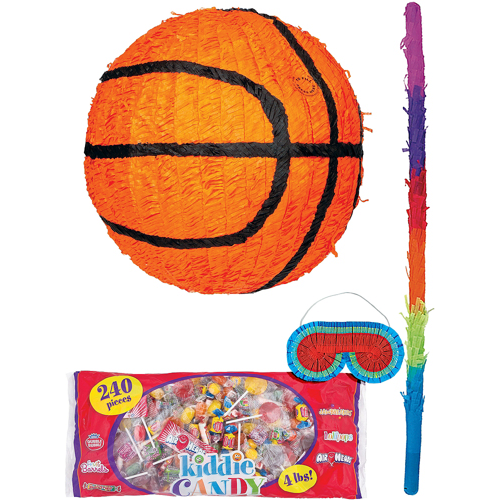 Basketball Pinata Kit Image #1