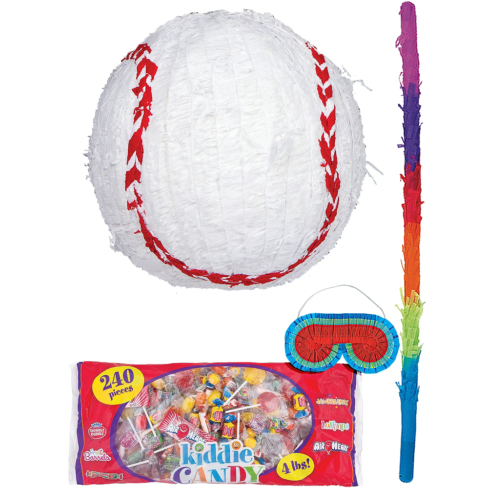 Baseball Pinata Kit Image #1