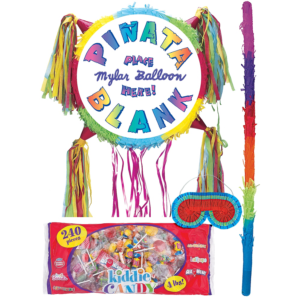 Nav Item for Add-a-Balloon Multicolor Pinata Kit Image #1