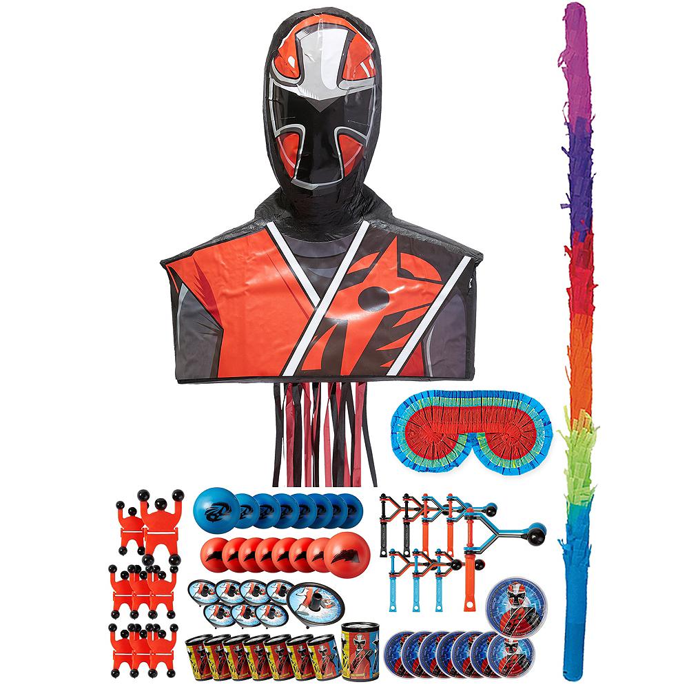Ninja Steel Red Pinata Kit with Favors - Power Rangers Ninja Steel Image #1