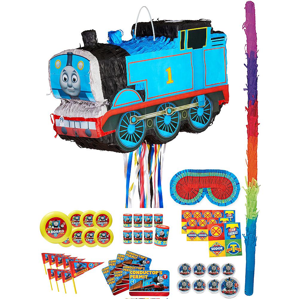 Thomas the Tank Engine Train Pinata Kit with Favors Image #1