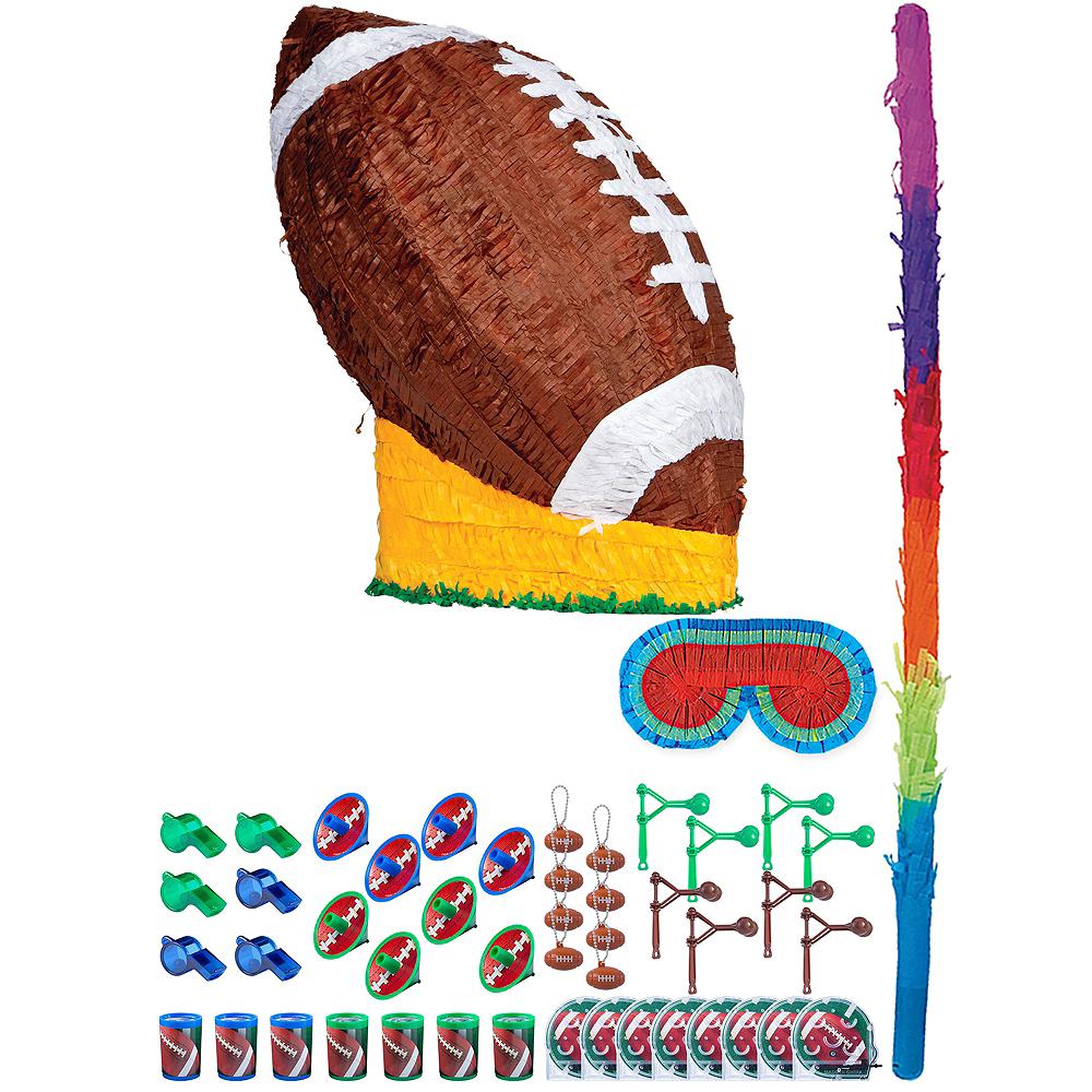 Football Pinata Kit with Favors Image #1