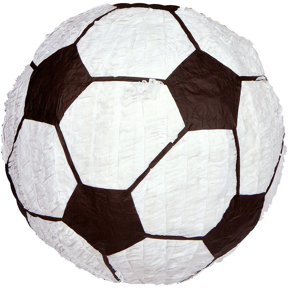 Soccer Pinata Kit with Favors Image #5