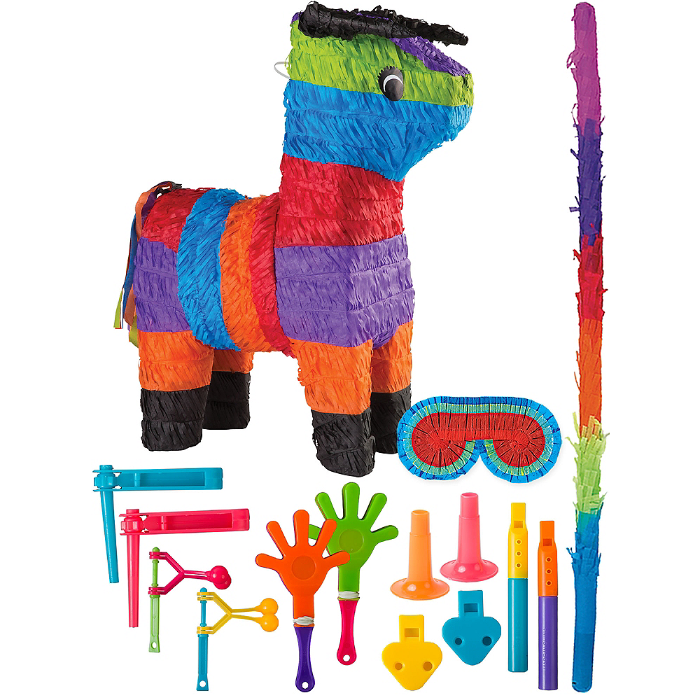 Bull Pinata Kit with Favors Image #1