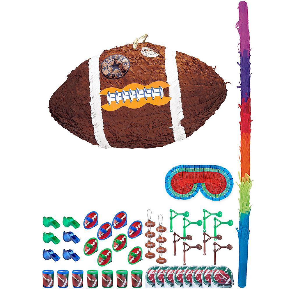Basic Football Pinata Kit with Favors Image #1