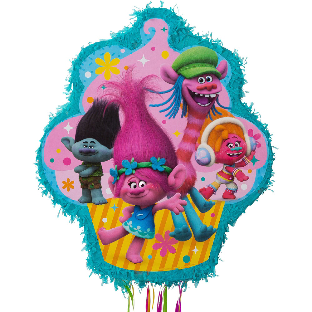 Trolls Pinata Kit with Favors Image #5
