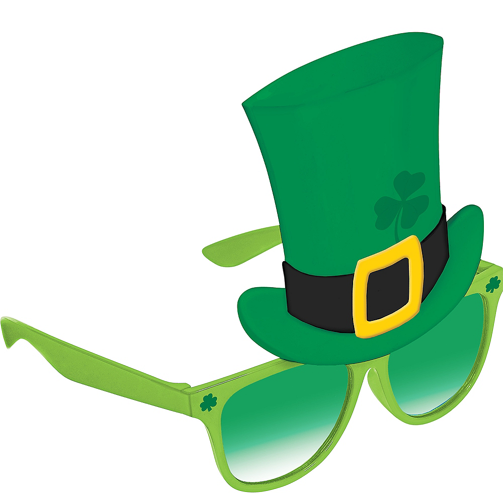 Leprechaun Hat St. Patrick's Day Sunglasses Image #1