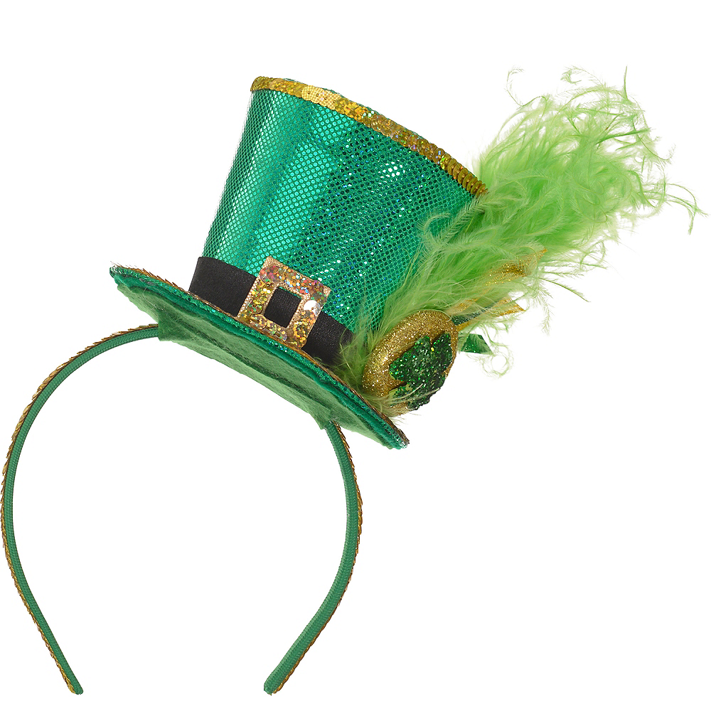 Leprechaun Top Hat Headband Image #1