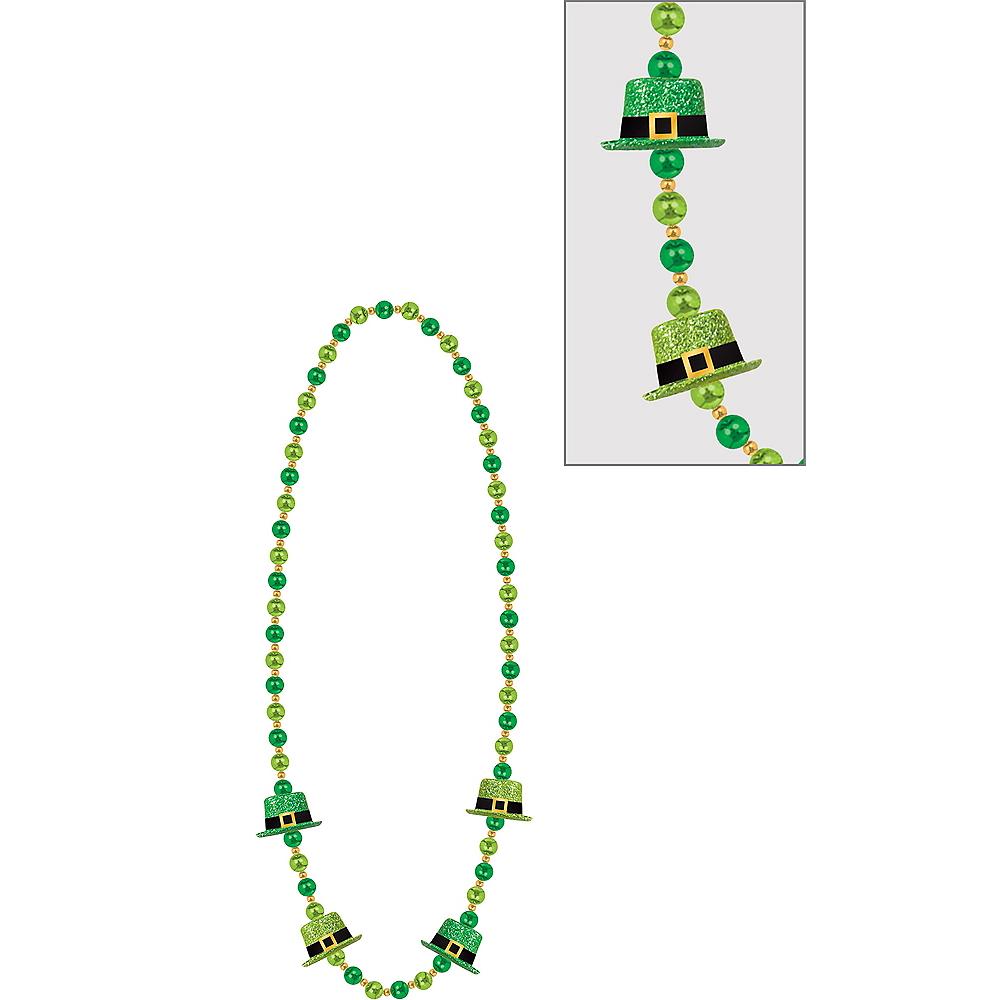 Leprechaun Hat Bead Necklace Image #1
