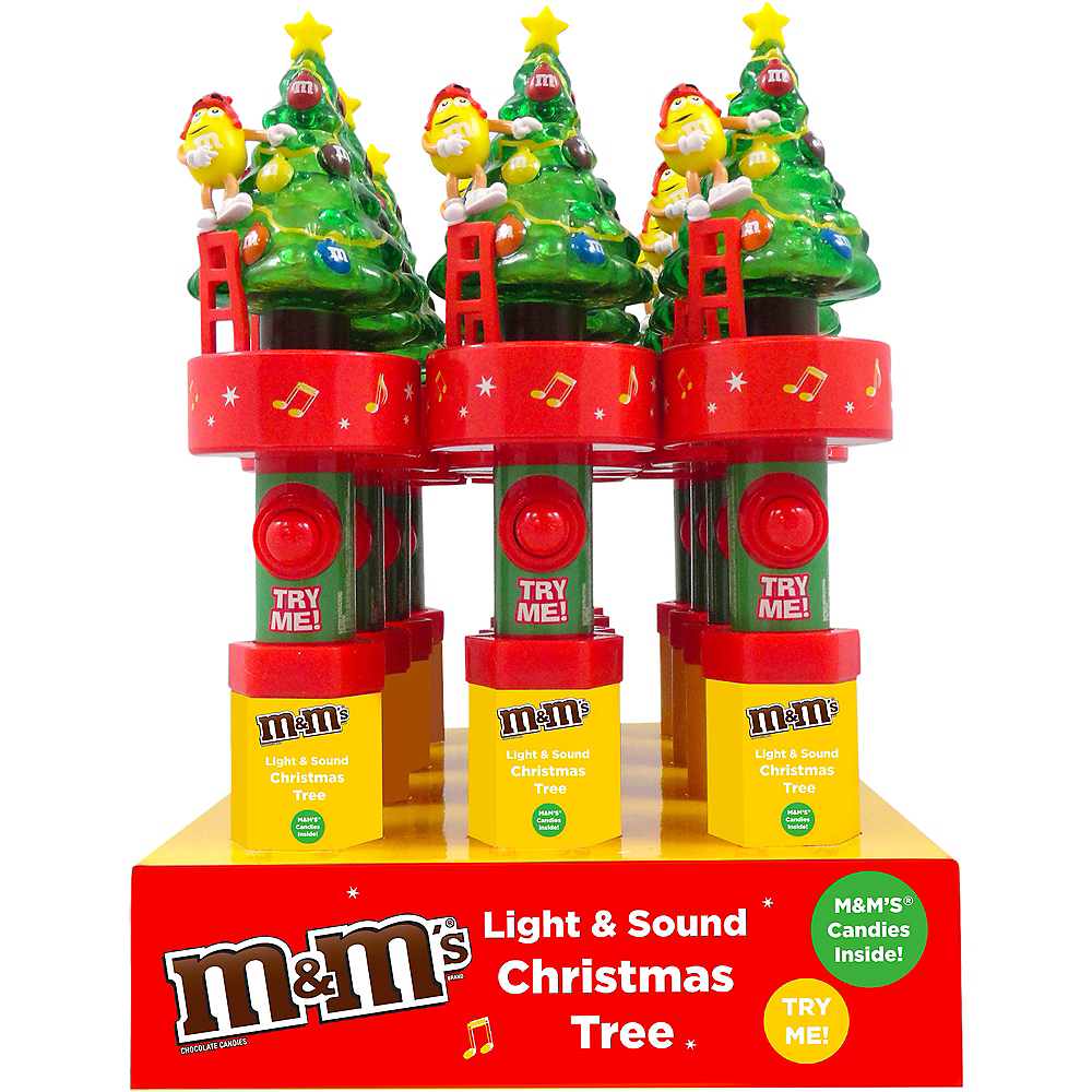 Light-Up Musical Milk Chocolate M&M's Candy Dispenser Image #1