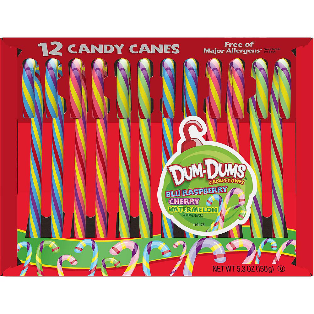 Dum-Dums Candy Canes 12ct Image #1