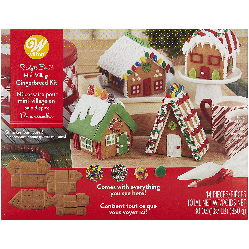 Wilton Gingerbread Mini Village Kit Image #1