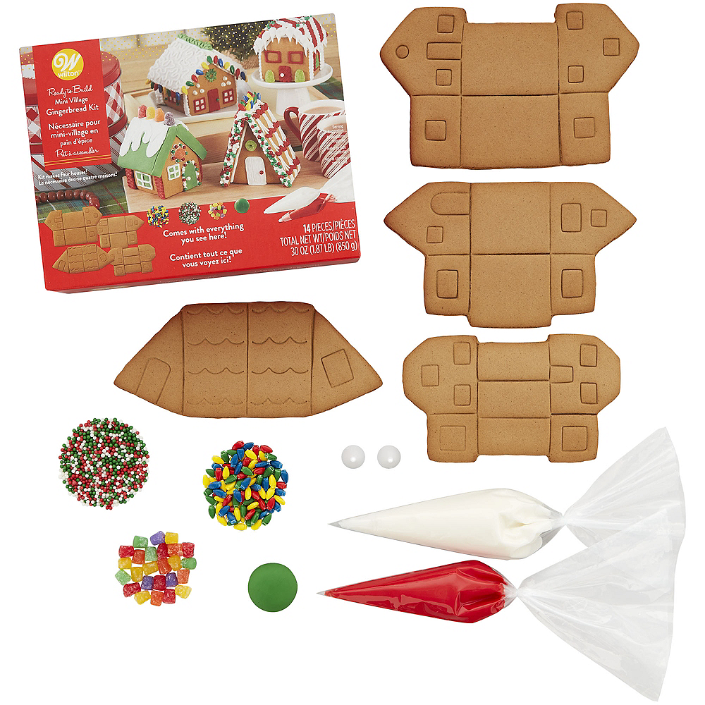 Wilton Gingerbread Mini Village Kit Image #2