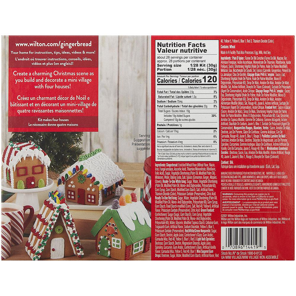 Wilton Gingerbread Mini Village Kit Image #3