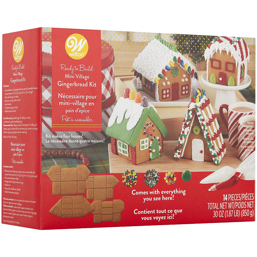 Wilton Gingerbread Mini Village Kit Image #4