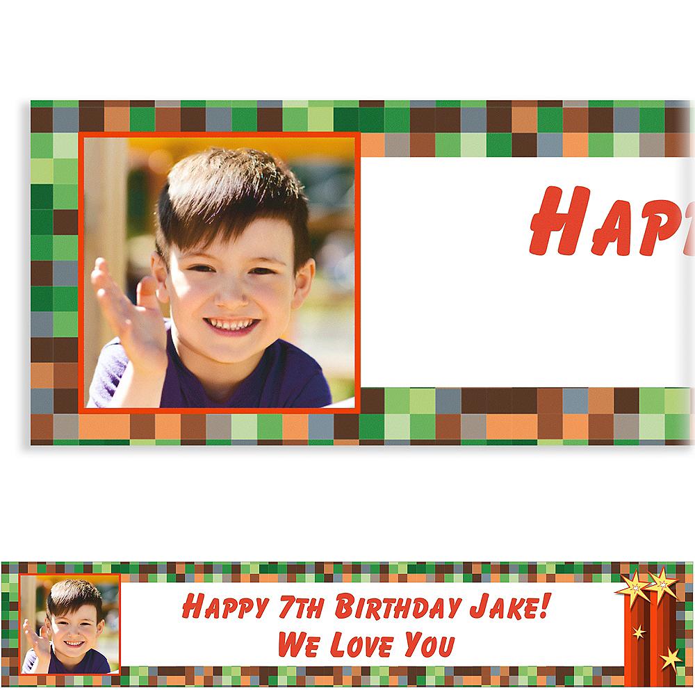 Custom Pixelated Photo Banner Image #1