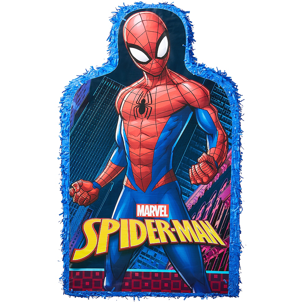 Giant Spider-Man Blue Pinata Image #1