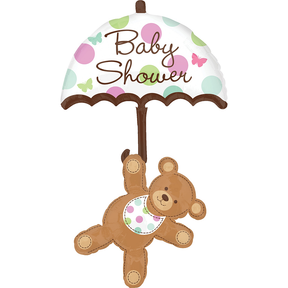 Hugs & Stitches Baby Shower Balloon, 49in Image #1