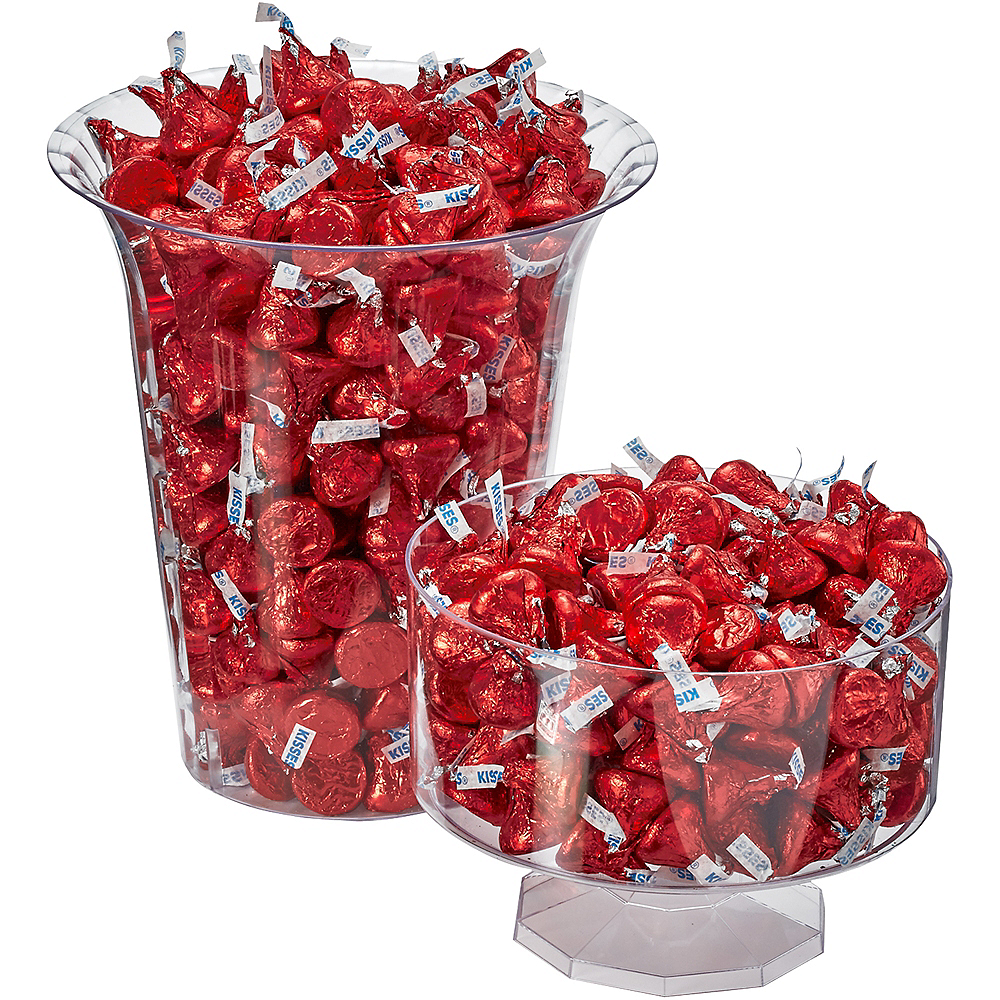 Red Milk Chocolate Hershey's Kisses 410ct Image #3
