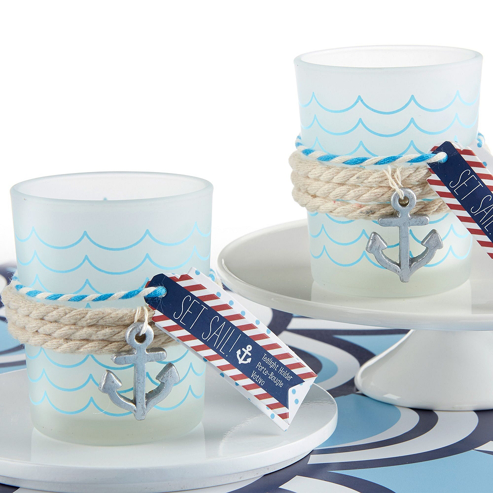 Nautical Tealight Candle Holders 8ct Image #2
