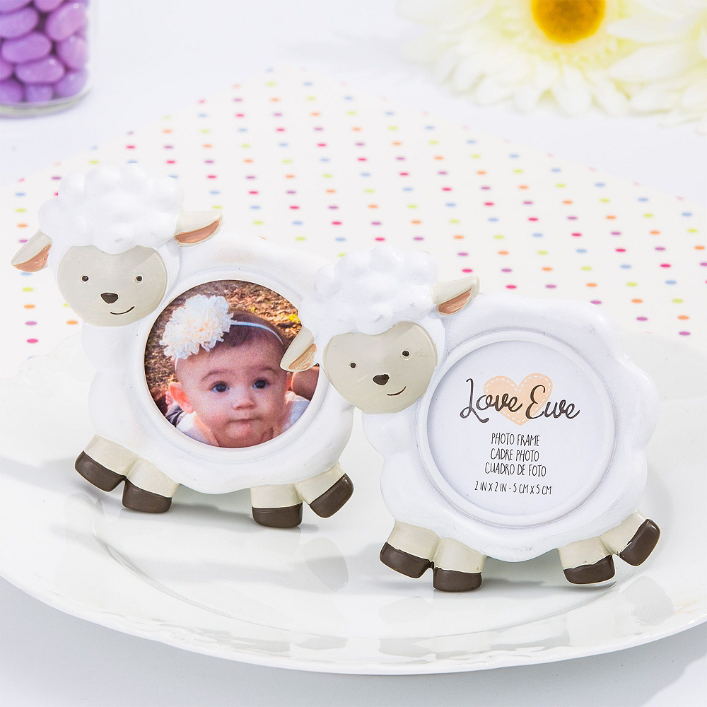 Baby Lamb Photo Frame Place Card Holders 6ct Image #2